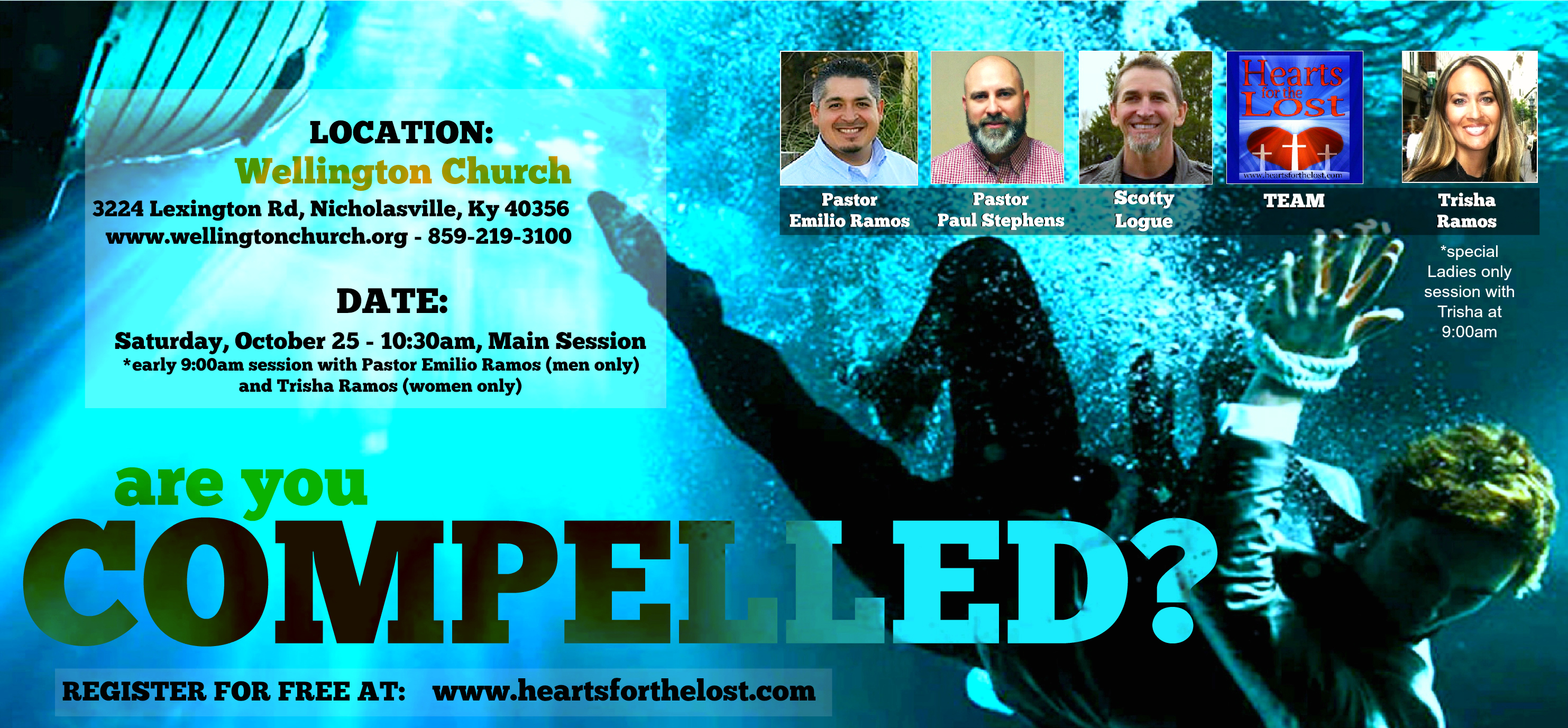 FREE! Evangelism Training Conference - October 25